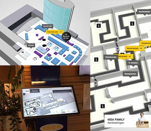 Maptomize Touch Application For Indoor Maps