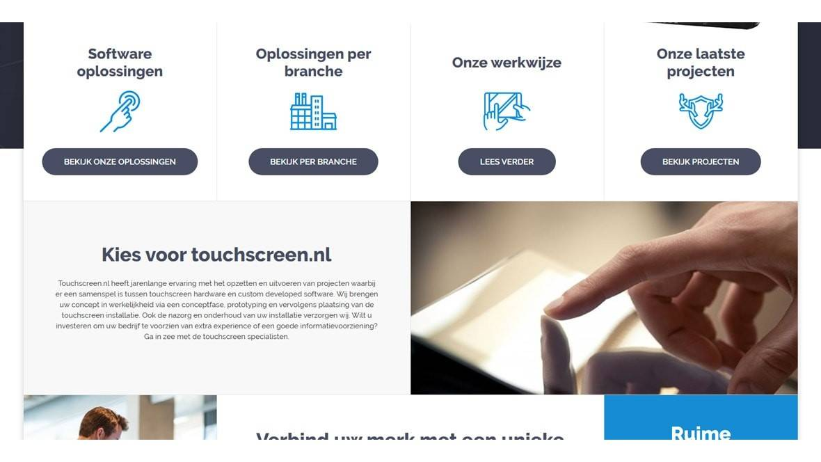 Touchscreen.nl - Our sister website - Gallery templateSlide 3 1 min